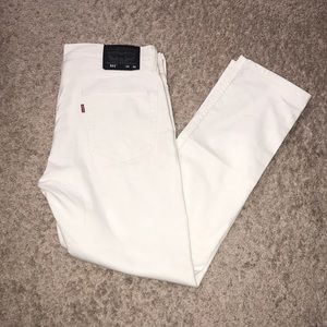 Other - Levi's 511 White jeans size 34x30